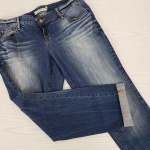 Torrid Boyfriend Jeans Medium Wash Stretch 14